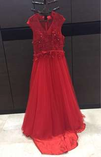 Red Ball Gown/Prom Gown