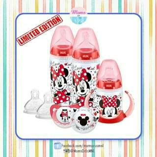 ‼️LIMITED EDITION‼️NUK® Disney Minnie Mouse Bundle Set 6-18m