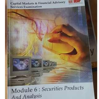 CMFAS Books IBF - module  5 / 2/ 2B (price quoted per book)