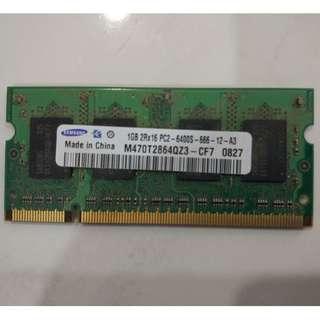 Samsumg 1 GB RAM