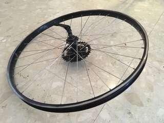 "26"" rear wheel rim"