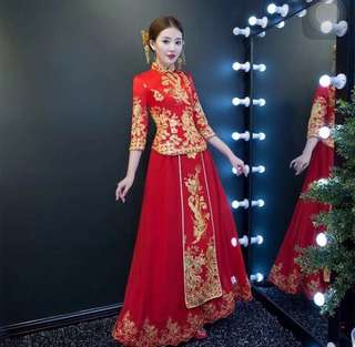 Chinese dress( use 1 time only)
