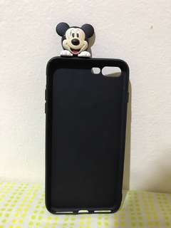 Case silicon iphone 7+ Mickey Mouse