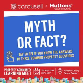 Get your answers at our Property Community Learning Meet // Sunday 20 May 2pm to 6pm