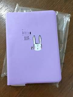 Purple Undated Pocket Planner