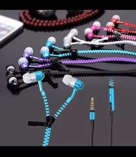 Brand new free delivery Anti-tangle zipper ear piece (bunk discount available)