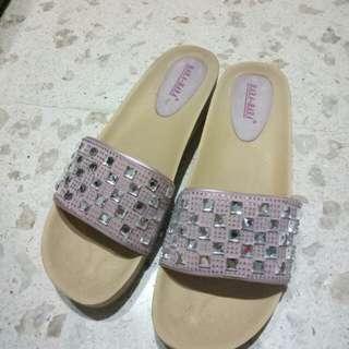Sandal Jewel Pink