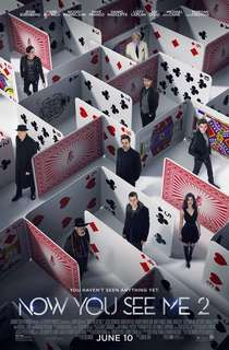 Now You See Me 2 Original Movie Poster