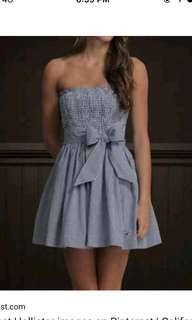 Hollister Tube Dress Can fit Size S to M