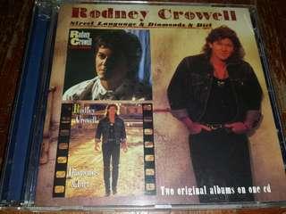 Music CD: Rodney Crowell–Street Language & Diamonds And Dirt - Country Music, Americana