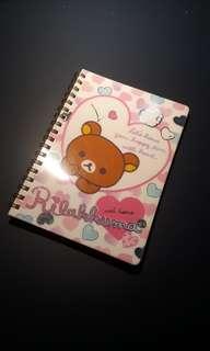 Rilakkuma Heart notebook