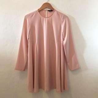 Zara Blush Pink Dress