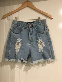 Denim shorts - Afends