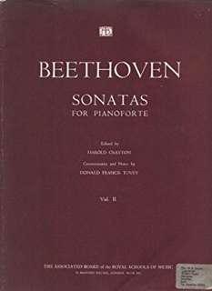 BEETHOVEN SONATAS FOR PIANOFORTE VOL II