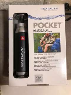 (~60% off) Katadyn Pocket microfilter water filtration system