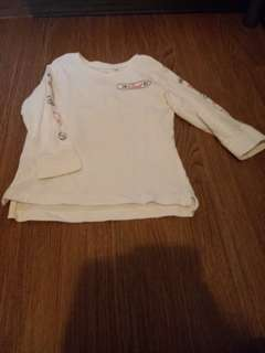 Cotton On Kids Size 2 Long Sleeves Shirt