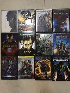 超級英雄DVD