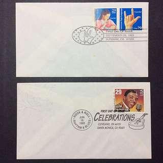 美國 郵封