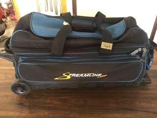 3 Bowling ball's bag