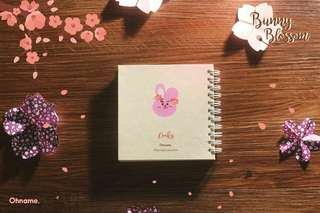 [A] BUNNY BLOSSOM NOTEBOOK (LIMITED)