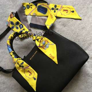 [ Ready Stock] [Better Twilly] Bag Scarf Handle Protector Multi Purpose Scarf