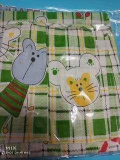 🚚 兒童圍裙 藍/綠