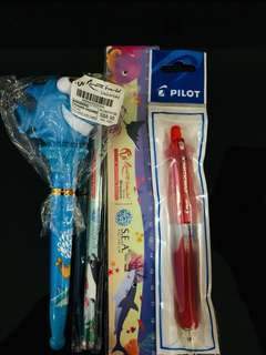 Stationery with pilot mechanical pencil