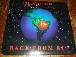Music CD: Roger McGuinn–Back From Rio - Country Rock, Folk Rock, Byrds