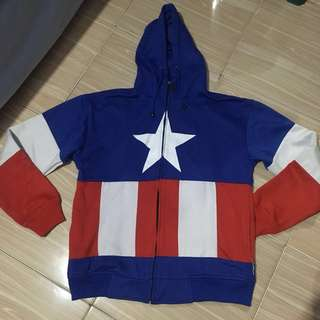 captain america jacket