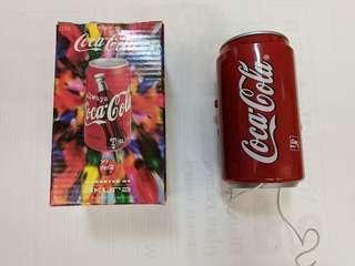 可口可樂coca cala罐形收音機