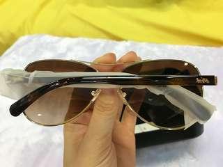 Coach L1015 啡色/金邊太陽眼鏡🕶️