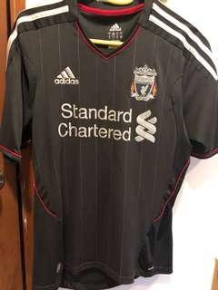 Liverpool Away Jersey 11/12