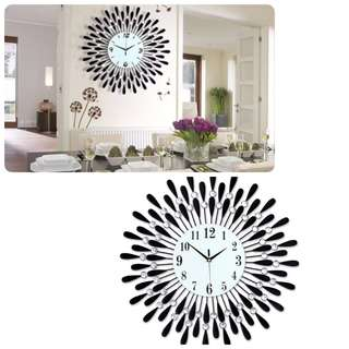 Beautiful Crystal Wall Clock