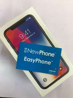 IPHONE X 256GB GREY WITH CELCOM EASY PHONE PLAN