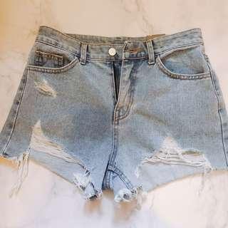 牛仔短褲 購自韓國🇰🇷