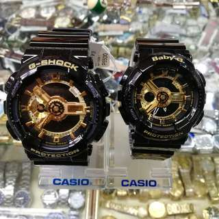 G-Shock GA-110 BLACK AND GOLD LIMITED EDITION