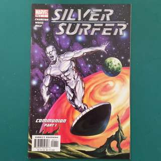 Silver Surfer No.1 comic