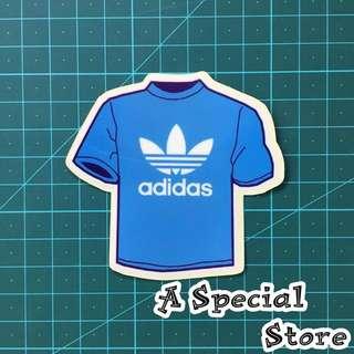 ( 款號: #SR0026 ) Adidas PVC 潮牌防水貼紙 Sticker < 專頁: A_Special_Store >