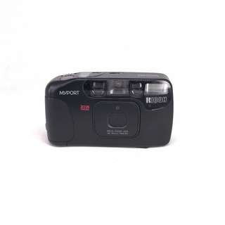 Ricoh Myport Zoom Mini Black Film Compact (Used) [SN:**154368]