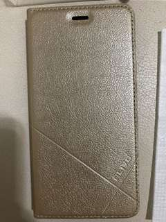 華為 Huawei nova2手機殼 保護套翻蓋式 皮套(土豪金)