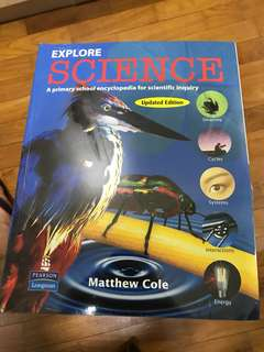 Encyclopaedia Explore Science Primary School Science