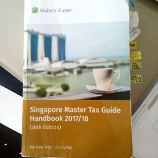 NTU NBS GROUP A AC2301 PRINCIPLES OF TAXATION TEXTBOOK