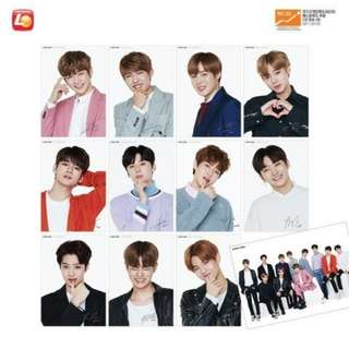 [PO] Wanna One Lotteria Bromide Poster