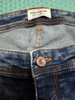 Jeans skiny pull and bear 34