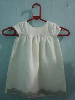 Baby dress baptismal