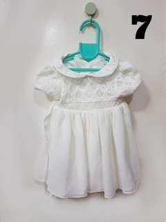 Periwinkle Baptismal Dress