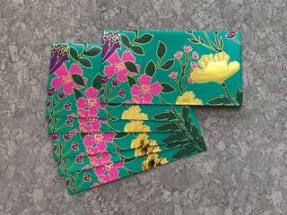 6pcs Petronas raya packet / green packet sampul raya