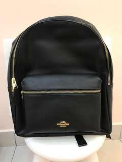 Original coach  backpack laptop bag computer bag ready Stock