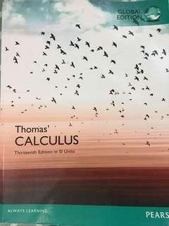 Thoma's Calculus