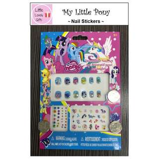 My Little Pony Nail stickers for kids